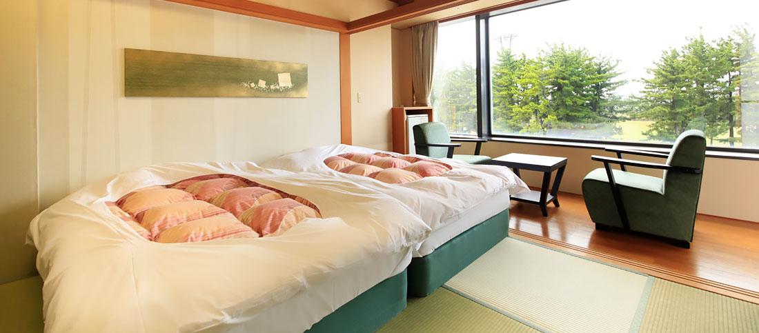 和室ツインベッド イメージ